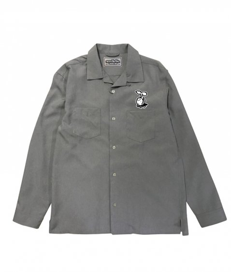 sd open collar LS shirts