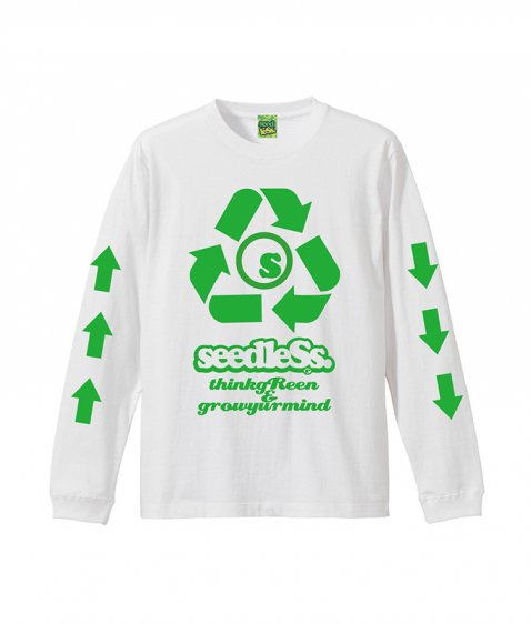 sd recycle L/S tee
