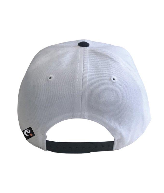 rg New Hattan color combi. snap back cap