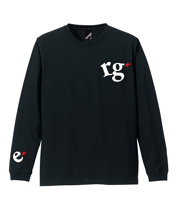 rg logo with big star L/S teeの商品イメージ