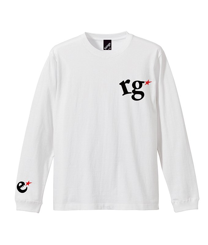 rg logo with big star L/S tee