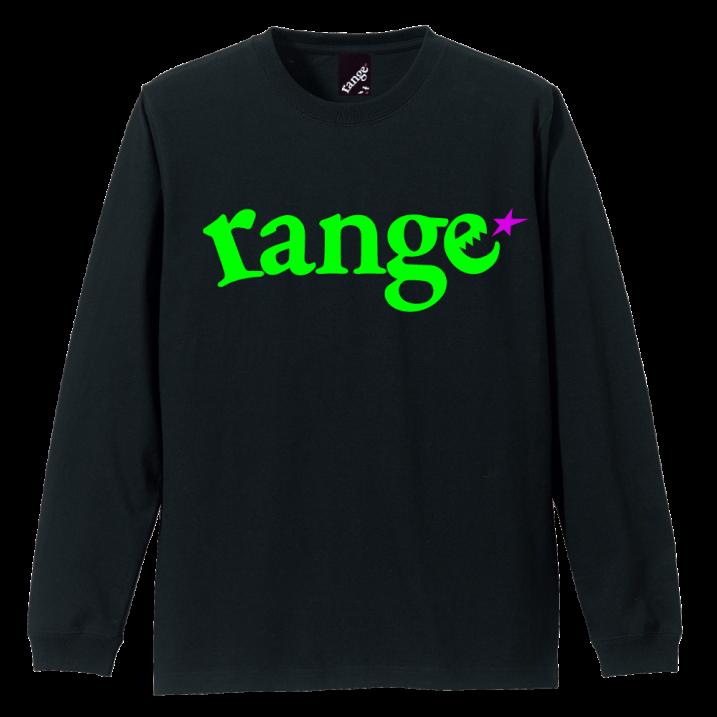 range fluorescence logo L/S teeの商品イメージ