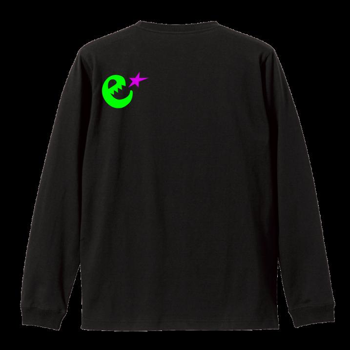 range fluorescence logo L/S tee