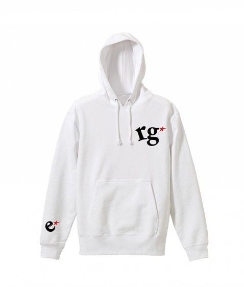 rg logo with big star hoody