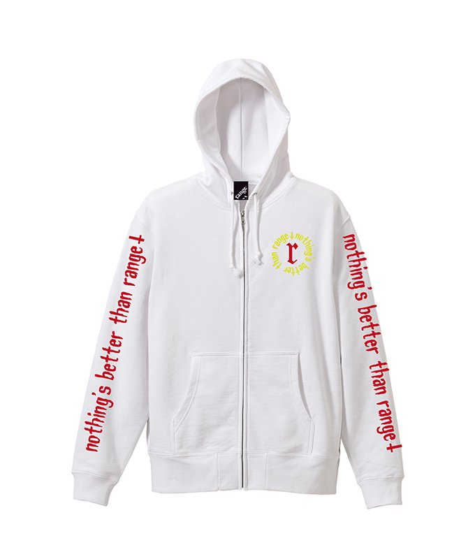 nothing better than range★ zip up hoody