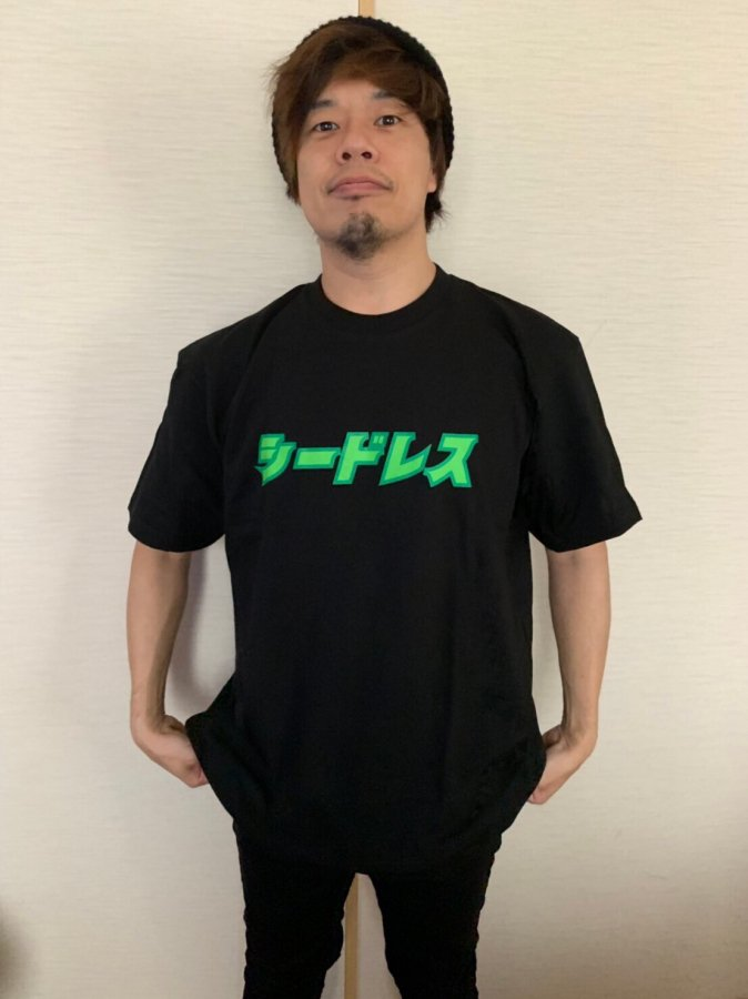 katakana logo s/s tee