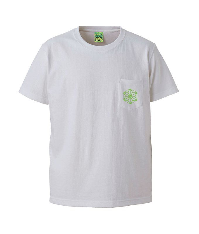sd  fluorescence cannabis pocket s/s tee