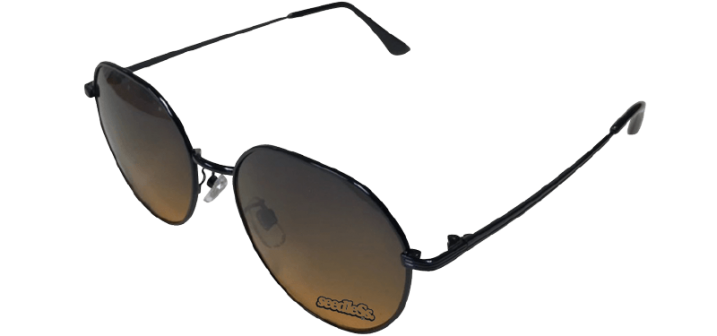 sd metal rounder sunglasses