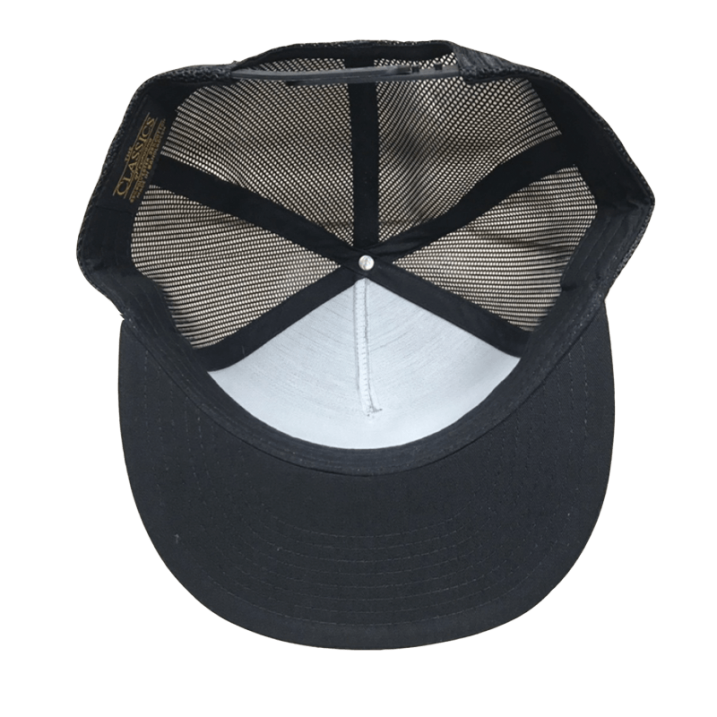 sd mesh snap back cap