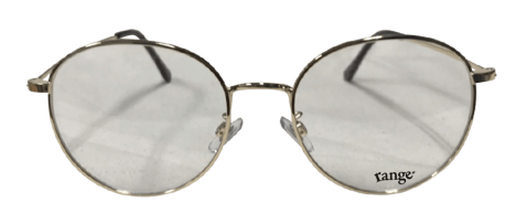 rg metal round glasses