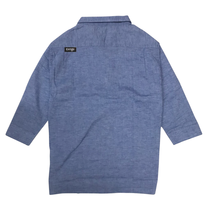 rg cotton hemp quarter slv. shirts