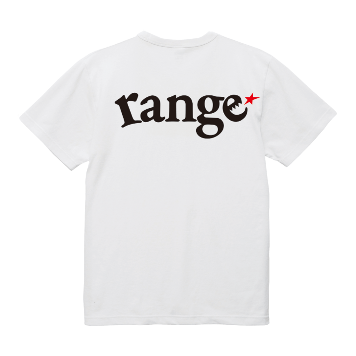 range flag ! USA cotton big size  s/s tee