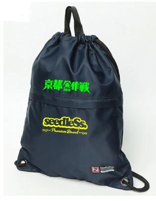 京都大作戦xseedleSs コラボ Newhattan ナップザックの商品イメージ