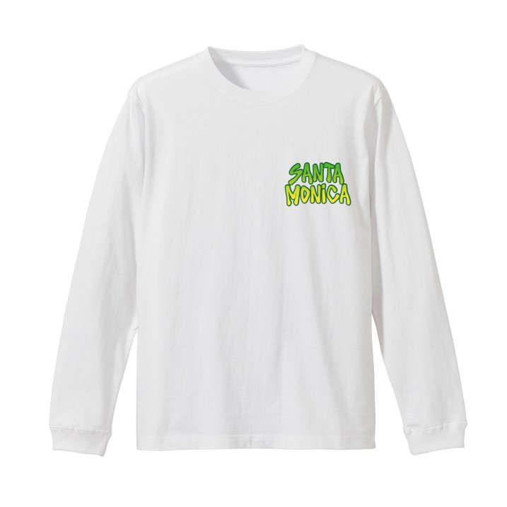 nature gradation logo L/S tee