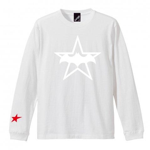rg felty batt star LS tee