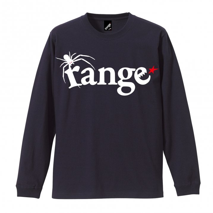 rg spider's logo and web LS tee