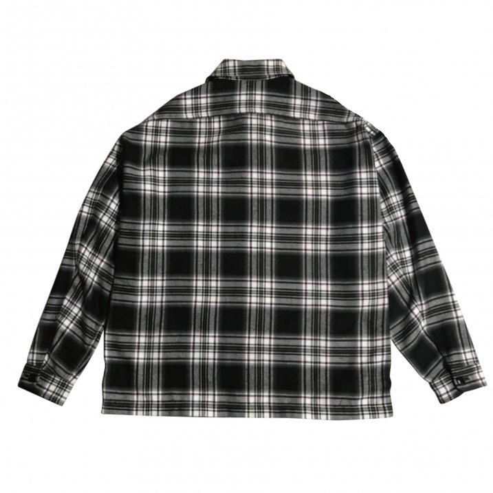 rg over size check shirts