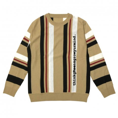 sd stripe crew knit