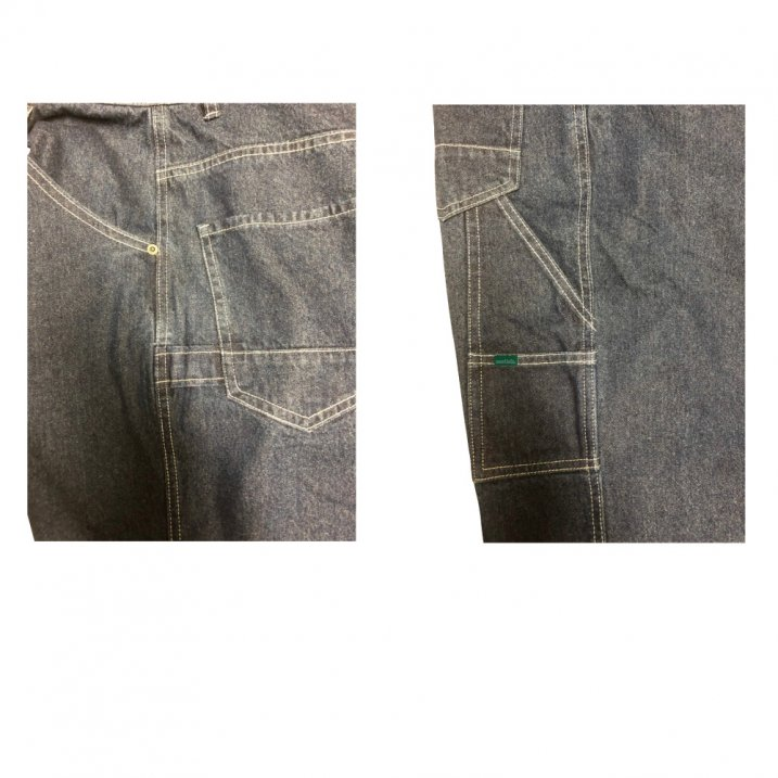 sd wide carpenter denim pants