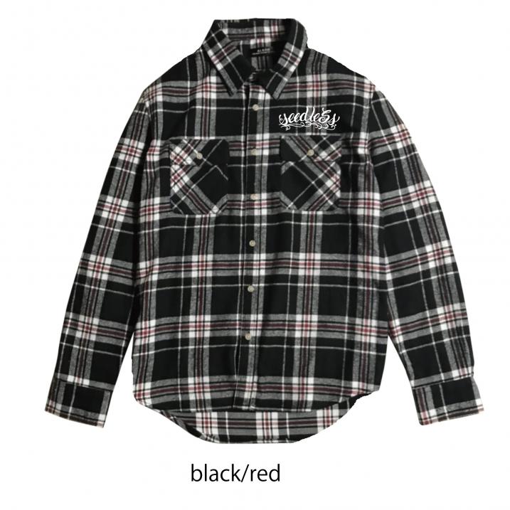 sd raised check nel shirts