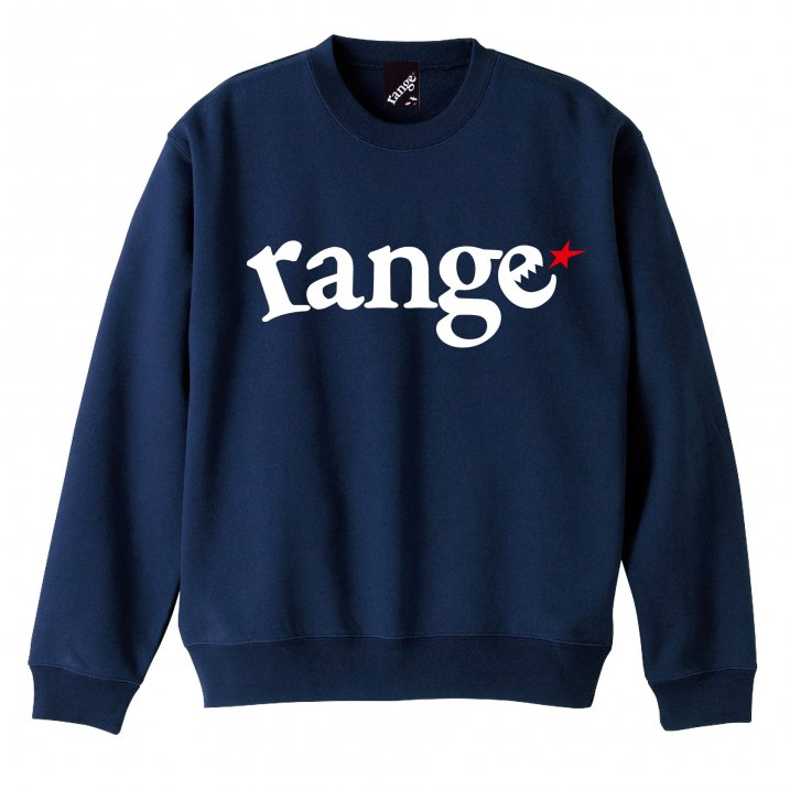 range super heavy weight 12.4oz crew neck