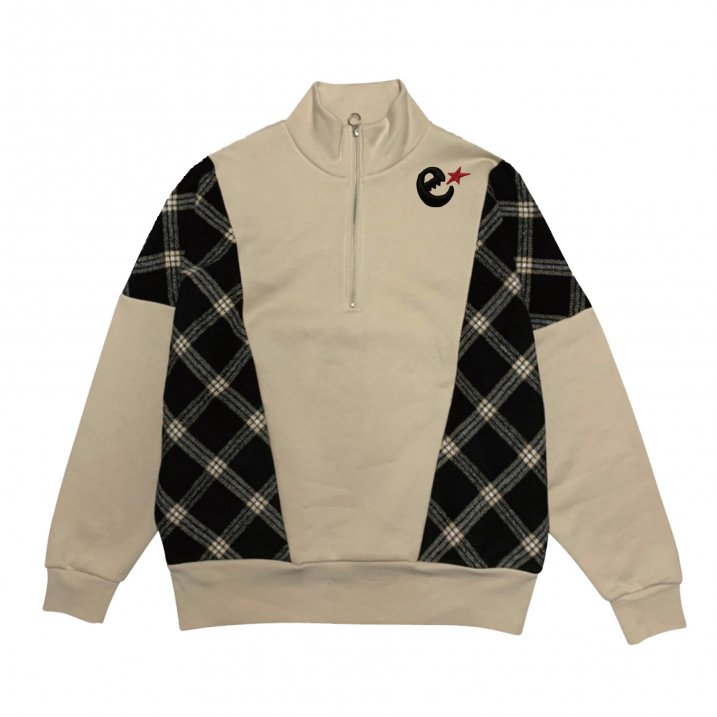 rg over size checker zip crewの商品イメージ