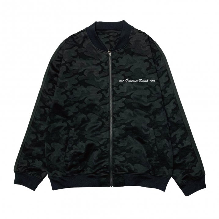 sd camo jersey zip upの商品イメージ