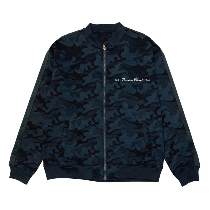 sd camo jersey zip up