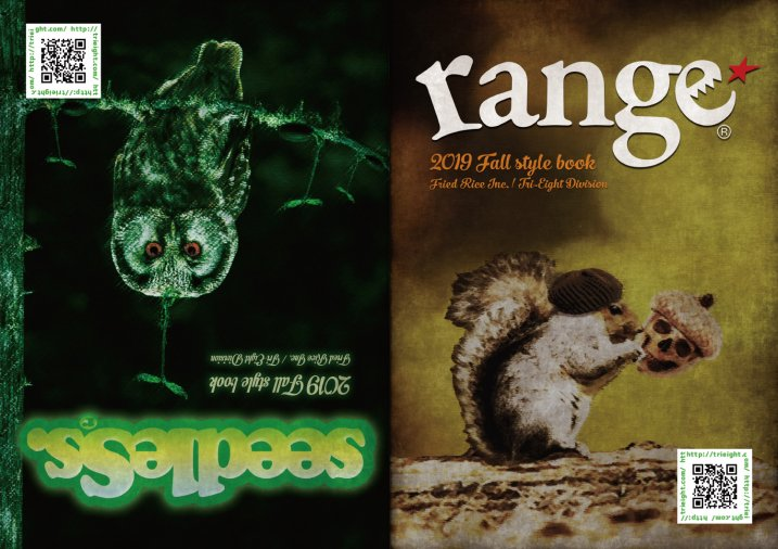 range/seedleSs Style Book 2019fallの商品イメージ
