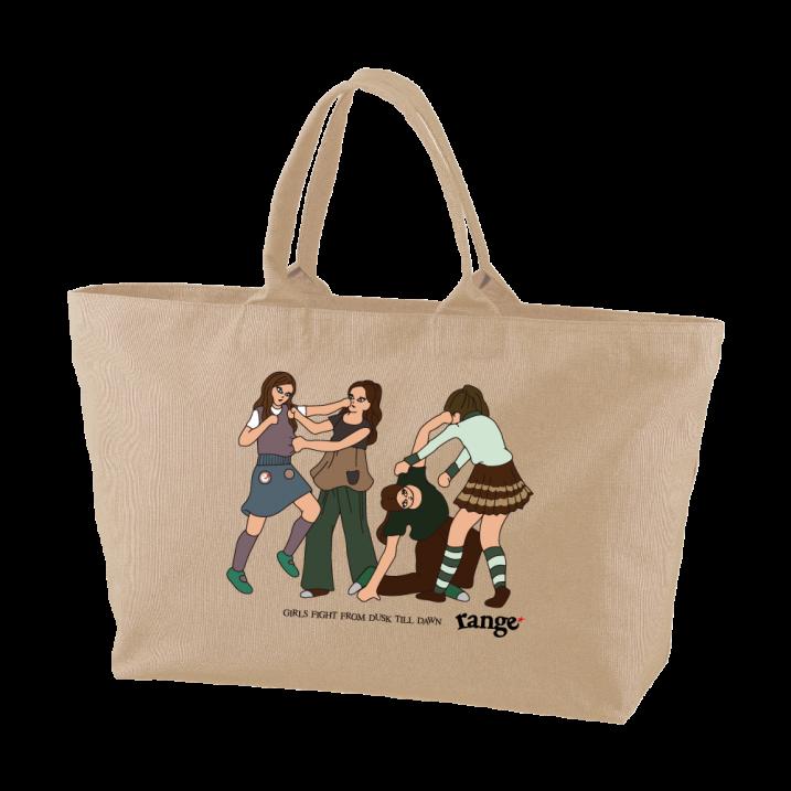 Girls Fight ! tote bagの商品イメージ