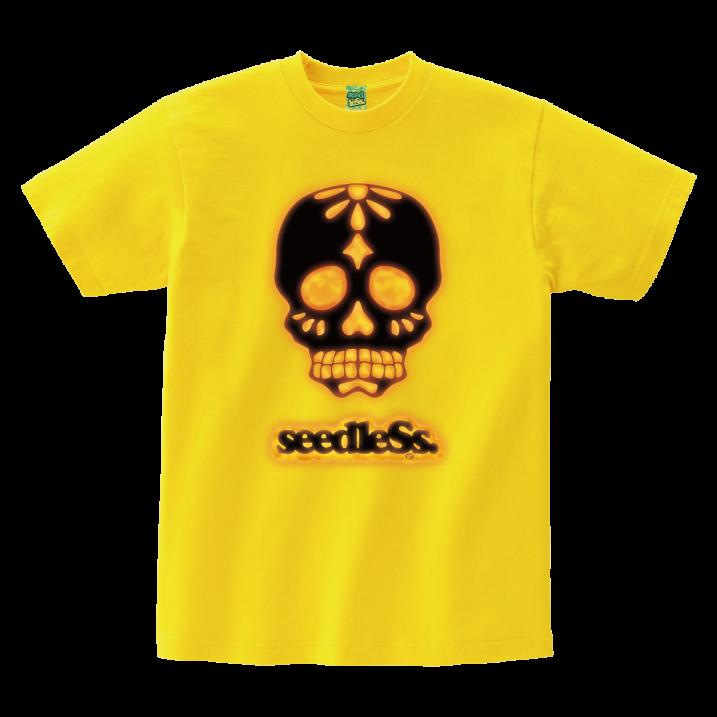 sd light up skull s/s tee