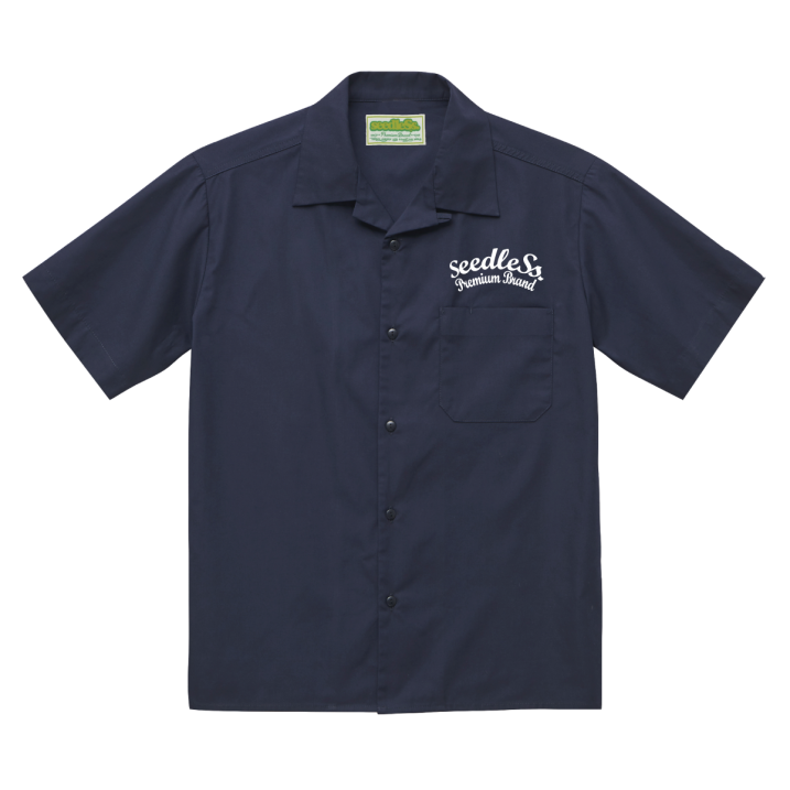 sd T/C open collar s/s shirtsの商品イメージ