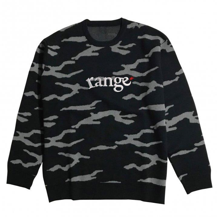 rg camo crew sweaterの商品イメージ