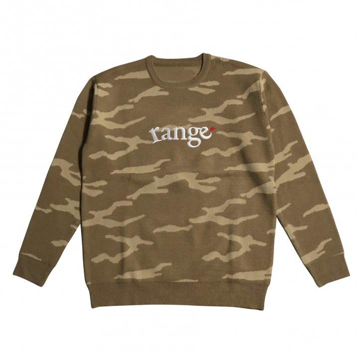 rg camo crew sweater