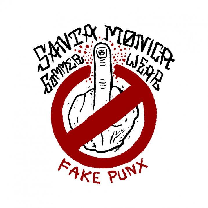 Anti Fake Punx tee