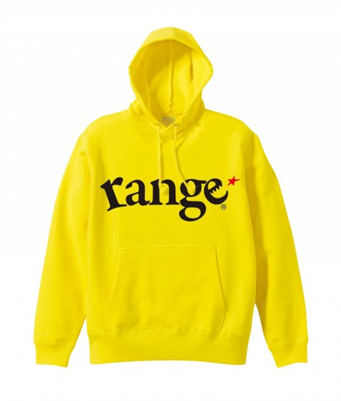 range logo pull over hoody colors