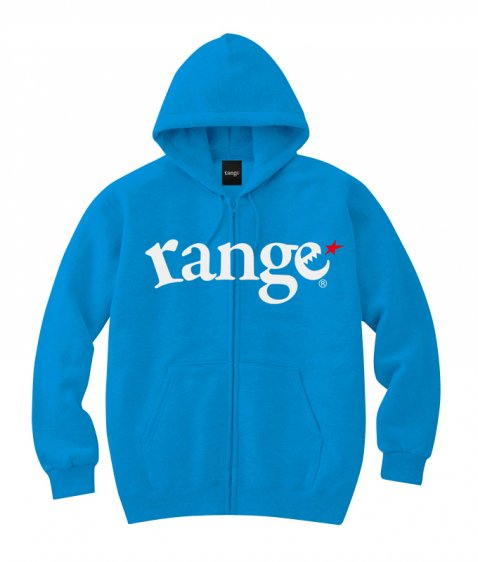 range logo sweat zip hoody colors