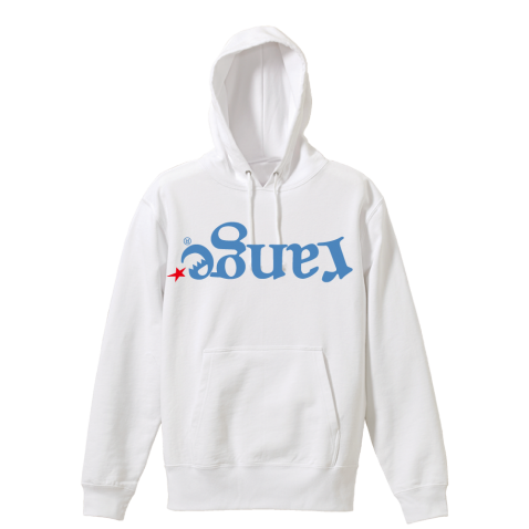 up side down logo hoody