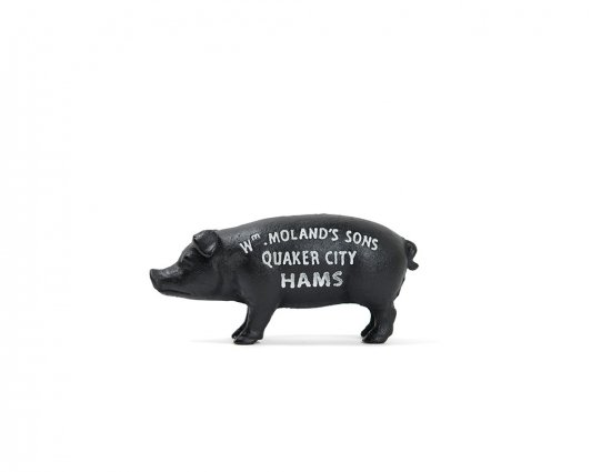 DETAIL INC ORIGINAL Hams Standing Pig Bank