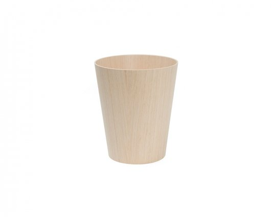 SAITO WOOD PAPER BASKET