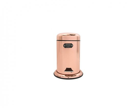 PUEBCO COPPER PLATING TRASHCAN