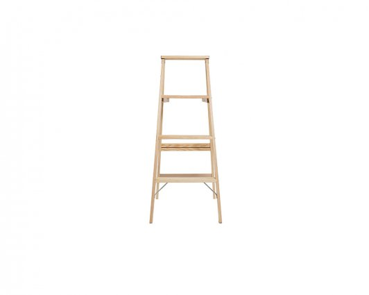 Michigan Ladder Company Wood Step Ladder