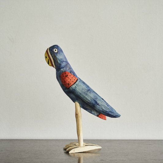 OAXACAN WOOD CARVINGS Parakeet