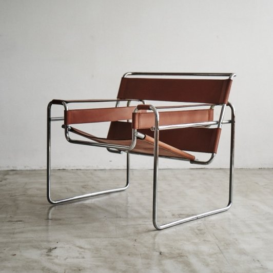 "Marcel Breuer ""Wassily chair""made by Gavina"