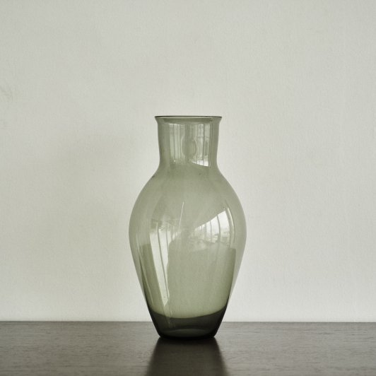 "Wilhelm Wagenfeld ""Glass Vase"" made by VLG"