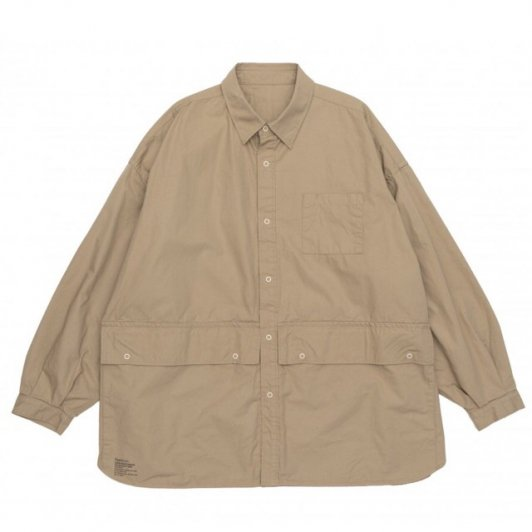 FreshService<br>CARGO POCKET REGULAR COLLAR UTILITY SHIRT