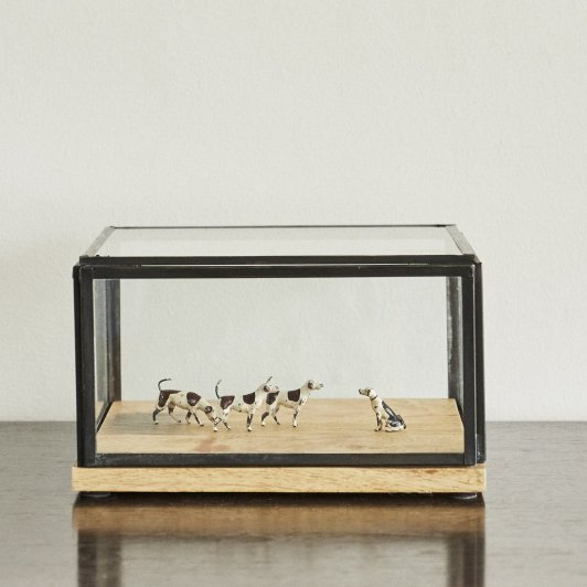 DIORAMA Hounting Dogs 4pcs