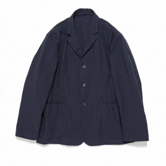 Bergfabel<br>walking jacket heavy cotton navy