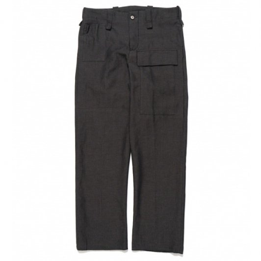 Bergfabel<br>worker pants black blue herring bone