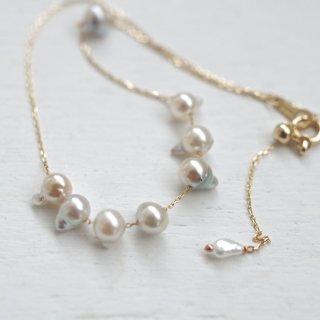 アコヤパールスタッズブレスレット Studs Pearl bracelet